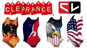 CL Activewear Gymnastics Leotards Blowout Sale