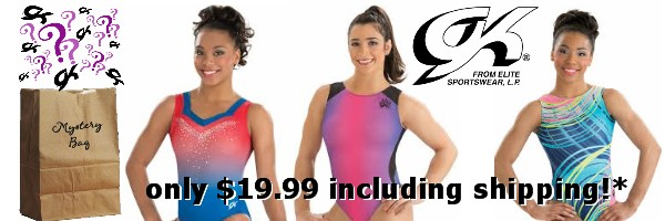 GK Elite Gymnastics Leotards Mystery Bag