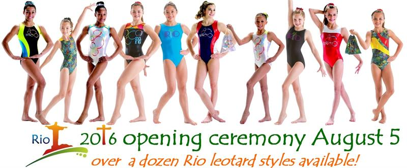 Rio gymnastics leotards 2016 games
