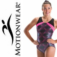 Motionwear gymnastics leotards from Discount Leotards
