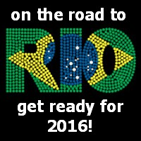 On the road to Rio!