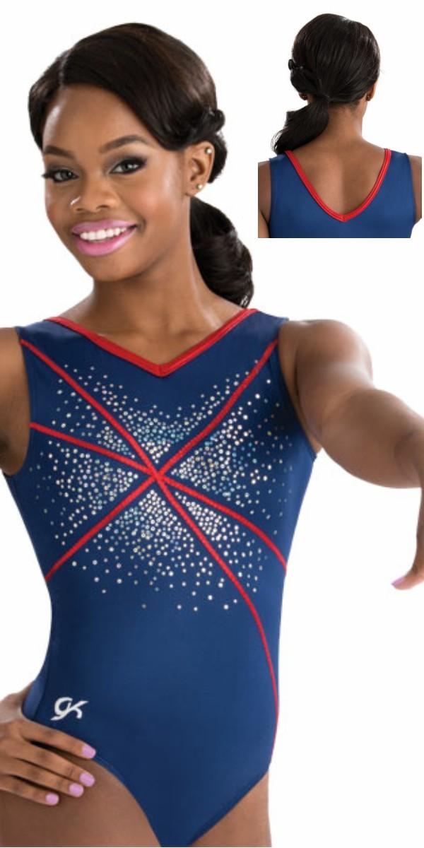 3732 Sequinz Fireworks GK Elite Sportswear gymnastics ...