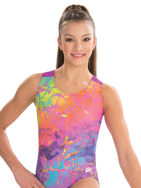 E3391 Tie Dye Shatter GK Elite Sportswear Gymnastics ...