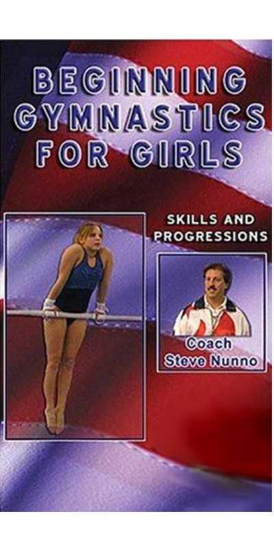 Steve Nunno Dvd Beginning Gymnastics For Girls Skills