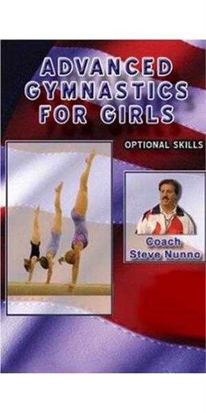 Steve Nunno Dvd Advanced Gymnastics For Girls Optional