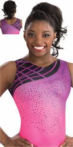3787 Blushing Sunset Gk Elite Sportswear Gymnastics