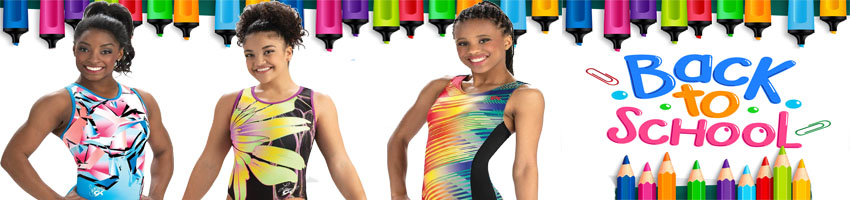 GK Elite Back To School Gymnastics Leotards