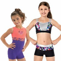 Gymnastics Leotards Girls Tank Sleeveless Leo GK Elite, Motionwear, DreamlightDiscountLeotards discount gymnastics leotards GK Snowflake Motionwear Alpha Factor CL Activewear Dreamlight  Look-It Activewear Biketards Unitards 2 piece crop top short set