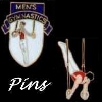 Boy's Men's Gymnastics Level Achievement Pins