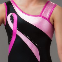 Breast Cancer Gymnastics Leotards