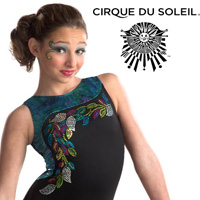 Cirque du Soleil GK Gymnastics Leotards from Discount Leotards www.DiscountLeotards.com gym leo for girls