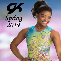 GK Elite Spring 2019 Gymnastics Leotards for girls collection