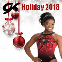 GK Holiday 2018 gymnastics leotards