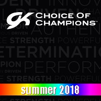 GK Summer 2018 gymnastic leotards, shorts and grip bags