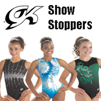 GK Elite Show Stoppers Gymnastics Leotards for girls inexpensive value gym leo
