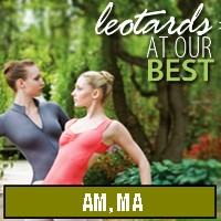 Dance Leotards - AM, MA