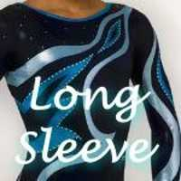 Gymnastics Long Sleeve Competition Leotards - In Stock