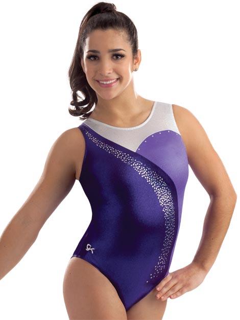 3713 Purple Empress GK Elite Sportswear Gymnastics Leotard ...