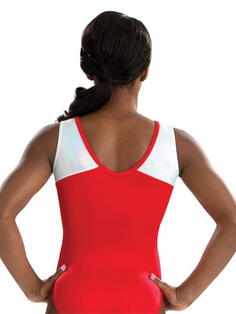 3722 Red Superstar GK Elite Sportswear Gymnastics Leotard ...