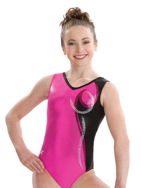3726 Berry Bombshell GK Elite Sportswear Gymnastics ...