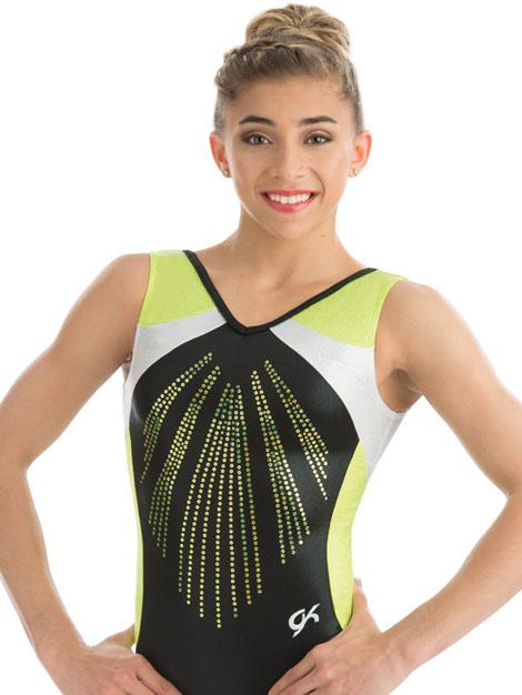 3755 Black Pearl GK Elite Sportswear Gymnastics Leotard ...