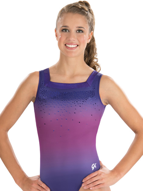 E3751 Dreamy Floral Leotard GK Elite Sportswear Gymnastics
