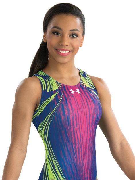 7c3d67e19 Under Armour by GK Elite Sportswear gymnastics leotard from discount ...