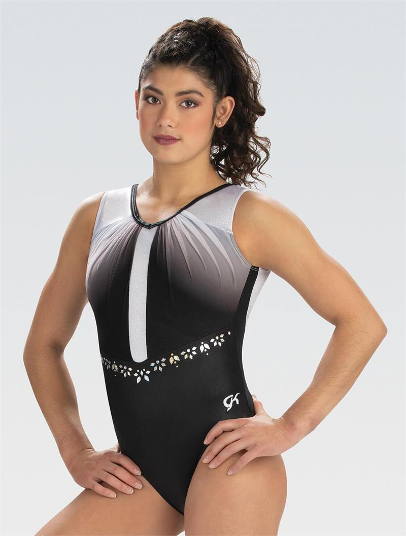 GK Elite - Gymnastics Leotard - Uptown Elegance with Long