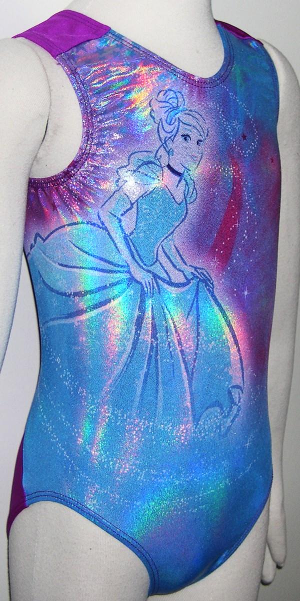 3eefe06d179d Disney DSYxxx Cinderella GK Elite Sportswear gymnastics leotard leo ...