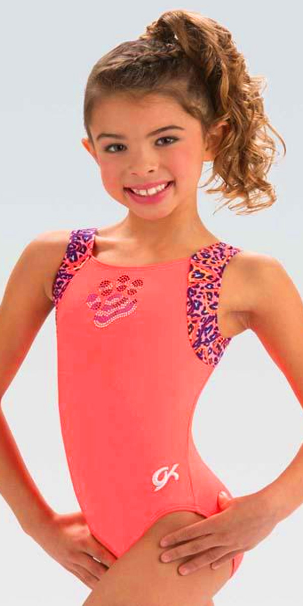 e4f40f15d E3669 Crazy Coral GK Elite Sportswear Gymnastics Leotard Discount ...