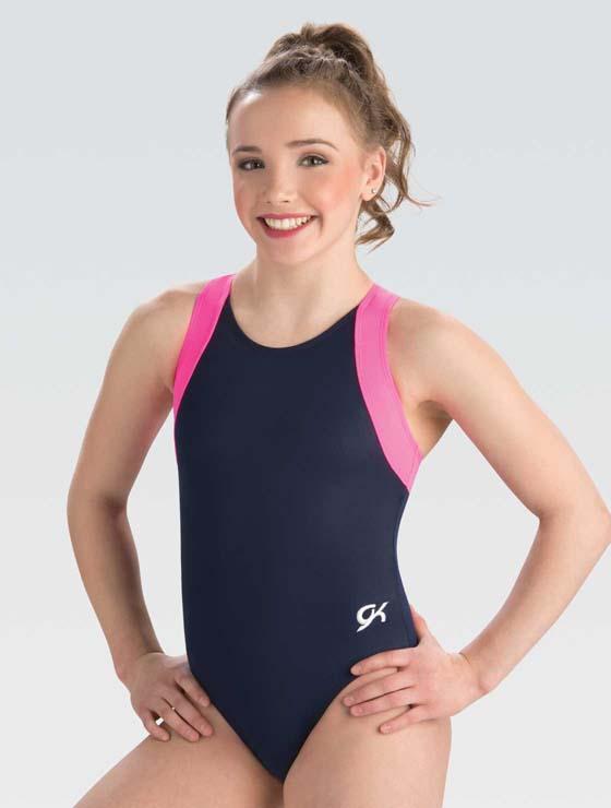 E3677 Shocking Pink Camp GK Elite Sportswear Gymnastics ...