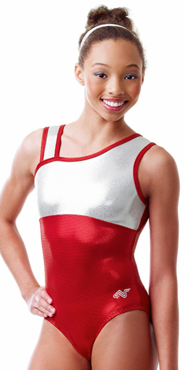 f85e57a30ee2 Alpha Factor Aerials gymnastics leotard leo from DiscountLeotards.com