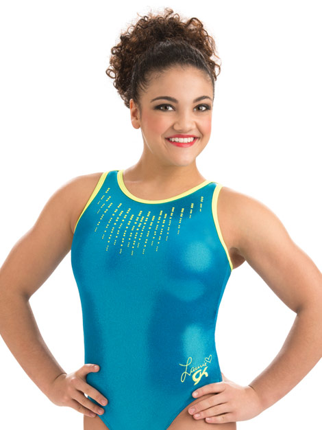 33c1958d8 E3516 Glo Girl Laurie Hernandez GK Elite Sportswear Gymnastics ...