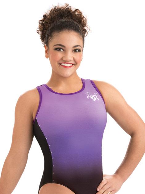 E3515 Purple Rockstar Laurie Hernandez GK Elite Sportswear ...