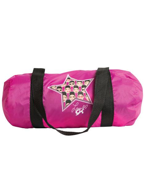 04f9e9f7eaba L1097 Emoji grip bag Laurie Hernandez GK Elite Sportswear Gymnastics ...