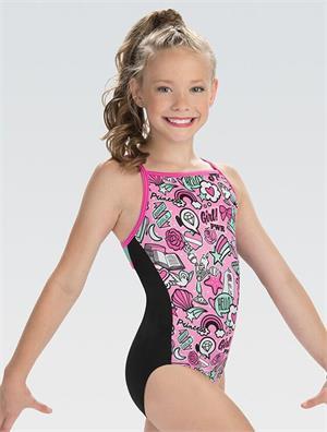 6269236da DSY155 Girl Power Disney GK Elite Sportswear gymnastics leotard ...