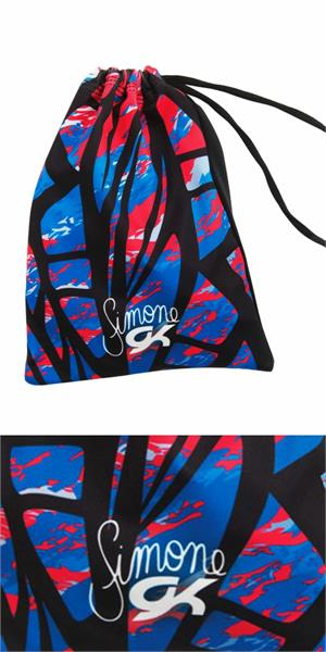 E3363 Simone Biles Gk Elite Fierce Fiesta Gymnastics Grip Bag Retired Style Last One