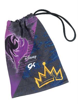 4fc2b6972228 DSY055 Daring Fairest Descendants - Disney © Mal Evie sublimated subfuse  gymnastics grip bag.