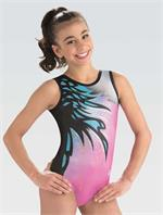 10509 Imagination Dreamlight by GK gymnastics leotard with free hair  scrunchie. 57ab8e8feec