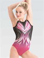 3836 Wishful Gaze GK gymnastics leotard with free hair scrunchie. 9dd398bf1fc