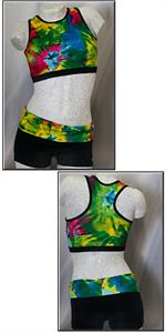Dreamlight Activewear gymnastics leo leotard