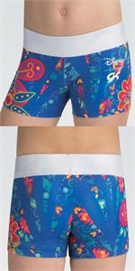a37a2b545cb5 DSY144 Elena of Avalor Flower Power - Disney © sublimated subfuse and  holotek wasitband workout shorts.