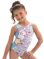 f9f15821d65d E3767 Fluffy The Unicorn from Despicable Me 3 - Sublimated subfuse tank  gymnastics leotard.