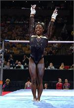 Qatar Simone Biles E4004 replica gymnastics leotard by GK World Championships 2018